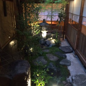 TopNote別館庭
