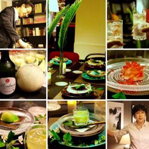 日本酒カクテル&モード系和菓子のセミナー